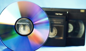 National Video Transfer: Transfer of Three or Five Two-Hour Videos to DVD at National Video Transfer (Up to 68% Off)