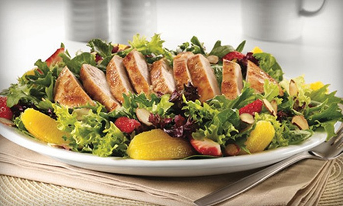 Denny's Restaurants - Multiple Locations: $10 Worth of Casual Diner Food