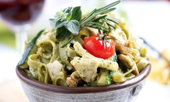 Mama Mia's Italian Eatery - Niagara Falls: Italian Dinner for Two or Four at Mama Mia's Italian Eatery (Half Off)