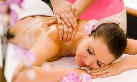Massage with Infrared Treatments or Body-Wrap Package at Spa Beca (Up to 81% Off). Three Options Available.