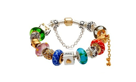 Charm Bracelets with Swarovski Elements