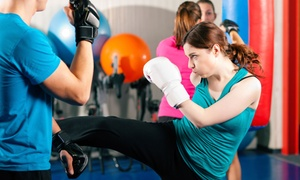 Bay Area Athletic Club: CC$39 for One Month of Unlimited Kick-Boxing Classes at Bay Area Athletic Club (CC$125 Value)