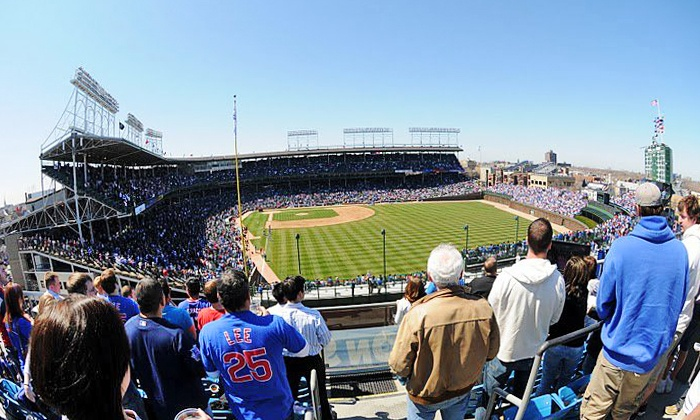 Skybox on Sheffield - Skybox on Sheffield Rooftop: Cubs Right-Field Rooftop Seating with Food and Drinks at Skybox on Sheffield (Up to 46% Off). 13 Sunday Games Available.