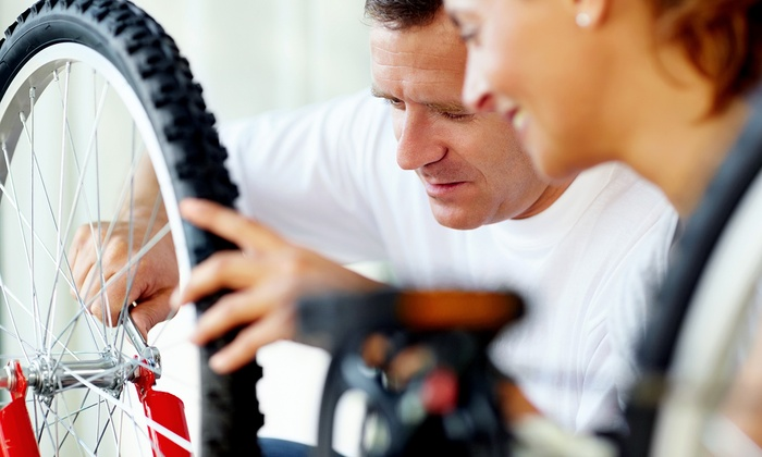 Ride a Bike Shop - Gastonia: Bicycle Tune-Up and Wash or Brutus 360 Headlight and Taillight Set (Up to 51% Off)