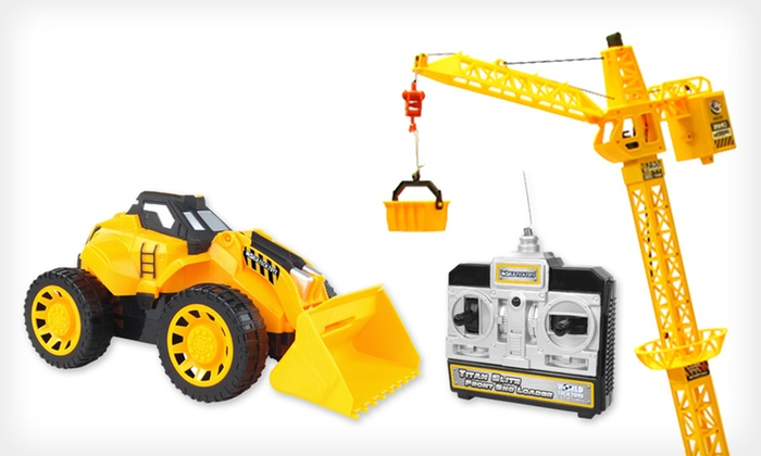 Remote-Controlled Construction Set: $49 for a Remote-Controlled Crane Tower and Construction Set ($120 List Price). Free Shipping.
