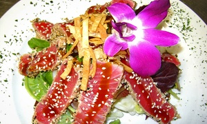 Bait Cafe: Mediterranean Cuisine or Take-Out at Bait Cafe (Up to 50% Off). Three Options Available.