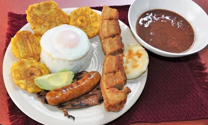 Rico Ricky Y El Gordito - Nashville: Colombian Cuisine for Two or Four at Rico Ricky Y El Gordito (Up to 45% Off)