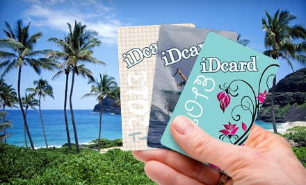 One or Two iDcards from Isle Discount (Up to 52% Off)