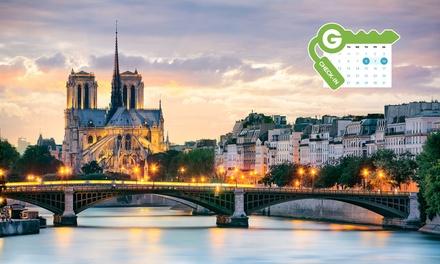 Paris : Chambre double Standard ou Supérieure avec petit déjeuner