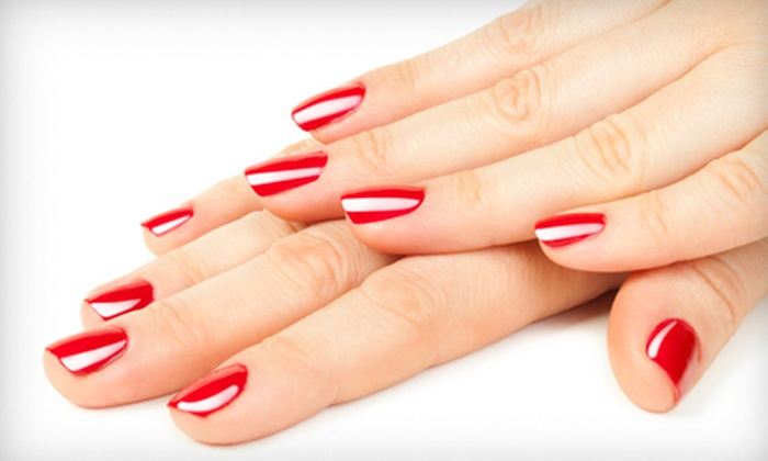 Goddess Salon & Spa - North Hills East: One or Three Gel Manicures at Goddess Salon & Spa (Up to 56% Off)