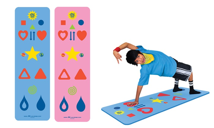 Phresh Yoga Mat And Game For Kids Or Teens Adults