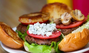 Woody's Burgers San Diego: $10 for Two Groupons, Each Good for $10 Worth of Burgers at Woody's Burgers San Diego ($20 Value)