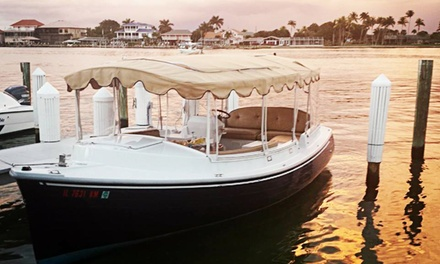 $109 for a Two-Hour Electric-Boat Rental for Up to 10 from Vantage Yacht Club ($300 Value)