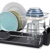 Home Basics Two-Tier Dish Rack