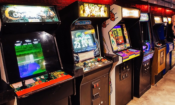 Up-Down - East Village: Draft Beer and Arcade Games at Up-Down (Up to 50% Off). Four Options Available.