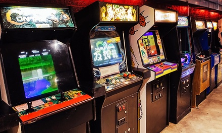 Draft Beer and Arcade Games at Up-Down (Up to 50% Off)