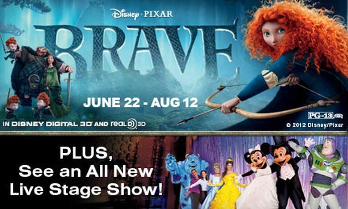 "El Capitan Theatre - Hollywood: $24 for Two to See Disney-Pixar's ""Brave"" in Disney Digital 3D at El Capitan Theatre in Hollywood (Up to $36 Value)"