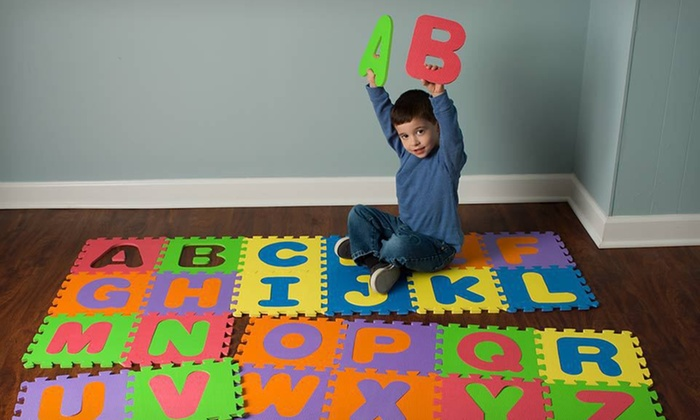 Mota Alphabet Play Mat: $24.99 for a Foam Alphabet Play Mat ($89.99 List Price). Free Shipping and Free Returns.