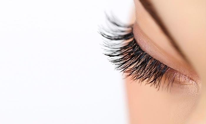 JJ Eyelashes Madison Spa - New York: 80-100 piece Eyelash Extensions at JJ Eyelashes Madison Spa (Up to 65% Off). Three Options Available