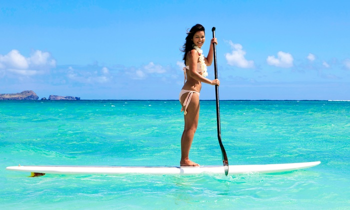 PSP SUP Specialists - Multiple Locations: Stand-Up-Paddleboard Class for One, Two, or Three with Equipment from PSP SUP Specialists (Up to 70% Off)