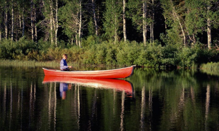 Riverwood Canoe - Osceola: Canoe Trip with Shuttle Service for Two or Four from Riverwood Canoe in Shafer (Up to 53% Off)
