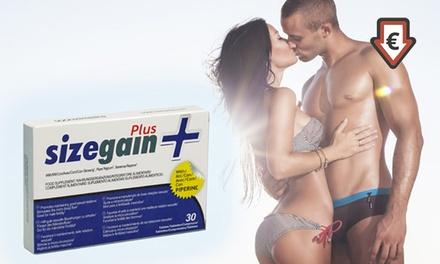 Set van 30 of 60 Sizegain Pluscapsules, een seksueel supplement voor mannen
