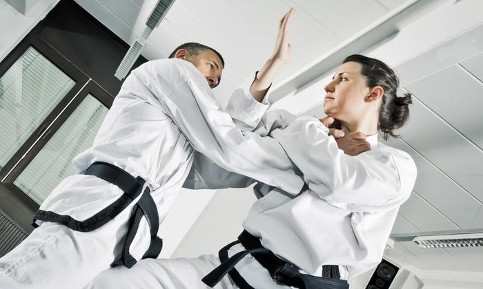 D.K. Tae Kwon Do - Pico: 6 or 12 Tae Kwon Do Classes with T-shirt and Belt at D.K. Tae Kwon Do (Up to 82% Off)