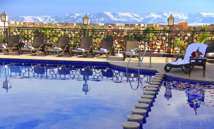 Marrakesh: 1-14 Nights for Up To Five with Breakfast or Half Board and Option for Massage at the 4* Imperial Plaza