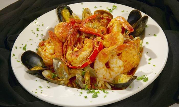 Villa Antonio - Multiple Locations: Italian Food in the Bar Area at Villa Antonio (Up to 50% Off)