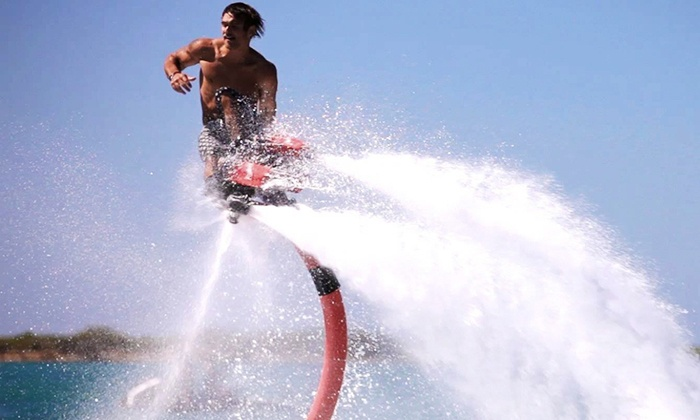 XtremeU - Dam Neck Naval Air Station: 30-Minute Flyboard Lesson for One or Two at XtremeU (Up to 52% Off)
