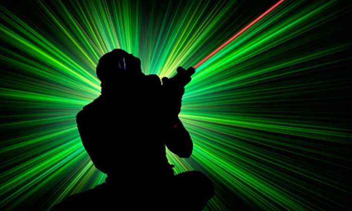 Lazer FX-Lazertag - Fayetteville: $25 for Laser-Tag Games, Sodas, and Game Tokens for Four at Lazer FX–Lazer Tag ($52 Value)