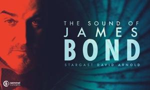 """Semmel Concerts: 1 Ticket für """"The Sound of James Bond"""" mit Stargast David Arnold am 23.3. im Kulturpalast Dresden (bis zu 41% sparen)"""