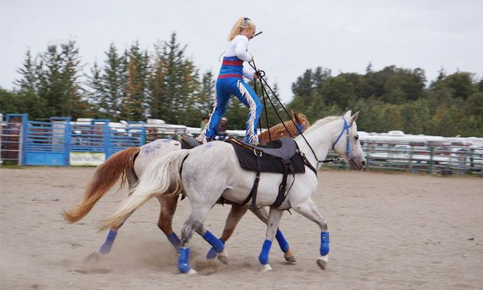 Rockin' B Riding Club - Rockin' B Horse: Rockin' B Horse Fair and Show for Two or Four from Rockin' B Riding Club (Up to 53% Off)