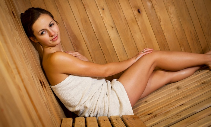 Sanctuary Spa - SEADIP: Three, Five, or Ten Full-Spectrum Infrared Sauna Sessions at Sanctuary Spa (Up to 72% Off)