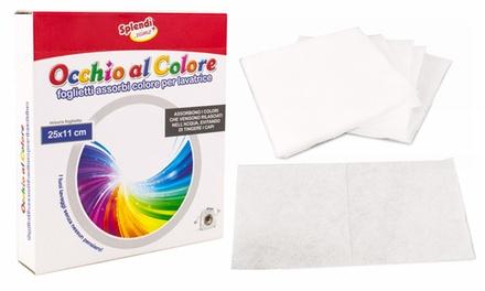 Fino a 480 fogli cattura colore per lavatrice