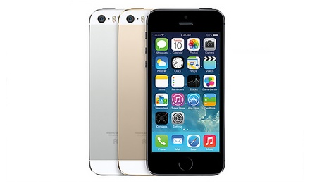 refurbished iphone 5s at t refurbished iphone 5s 16 64 gb groupon goods 15958