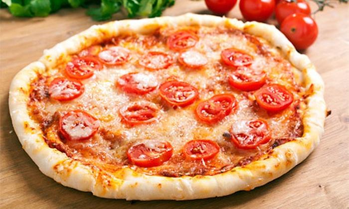Saccomanno's Pizza Pasta & Deli - Lauderdale: $15 for $35 Worth of Pizza, Pasta, and Sandwiches at Saccomanno's Pizza Pasta & Deli