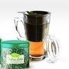 Glass Party Mug with Two Teas