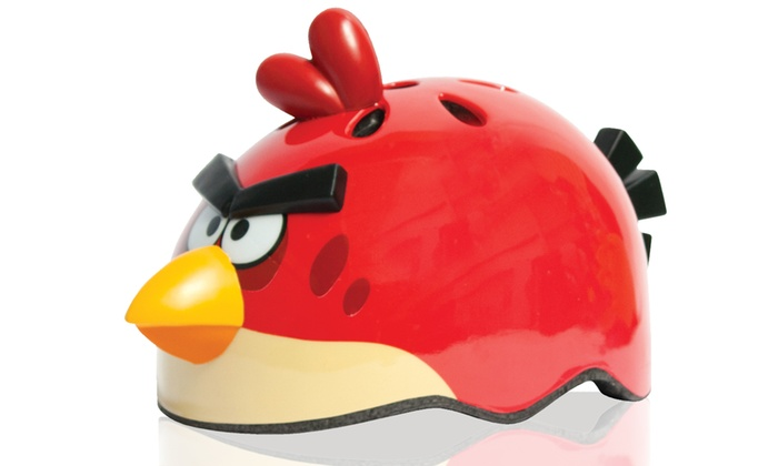 Angry Birds Kids' Helmet with Sounds  Free Returns