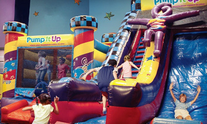 Pump It Up - Freehold: Classic Birthday Party for 12 or 25 Kids or 5 or 10 Pop-In Playtime Visits at Pump It Up (Up to 57% Off)