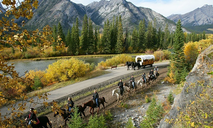 Holiday on Horseback - Warner Stables: Western Cookout Lunch for Two or Four from Holiday on Horseback (Up to 36% Off)