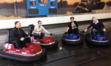 Whirlyball Outing for 15 with Pizza & Drinks at Joe Dumars' Fieldhouse in Shelby Township (up to $219.85 Value)