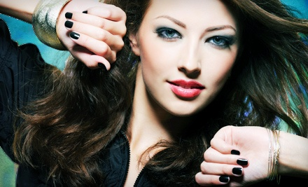 Two or Three Gel No-Chip Manicures at Couture Nail Boutique (50% Off)