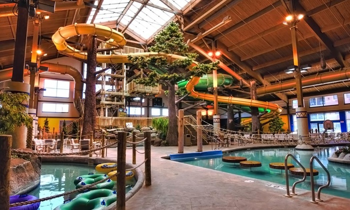 Timber Ridge Lodge & Waterpark - Lake Geneva, WI: Stay with Daily Water-Park Passes at Timber Ridge Lodge & Waterpark in Lake Geneva, WI. Dates into March Available.