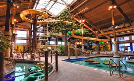Stay with Daily Water-Park Passes at Timber Ridge Lodge & Waterpark in Lake Geneva, WI. Dates into March Available.