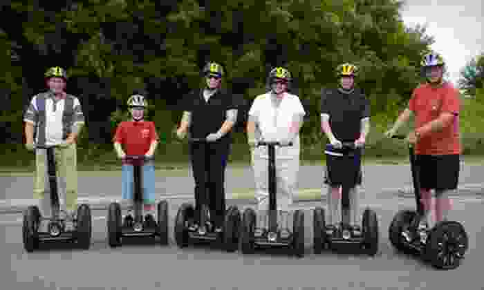 All American Segway - Stillwater - Multiple Locations: Segway Rental or Tour from All American Segway – Stillwater (Up to 53% Off). Six Options Available.