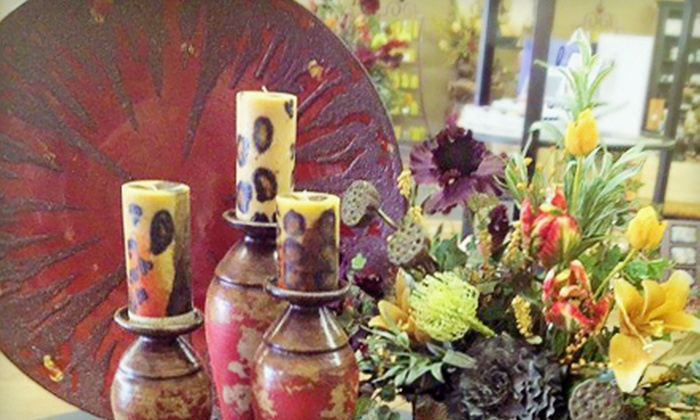 The Arrangement - Yukon: $12 for $25 Worth of Home Décor, Accent Furniture, and Candles at The Arrangement