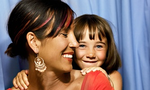 Photo Booth R Us: Two- or Four-Hour Rental from Photo Booth R Us (Up to 67% Off)