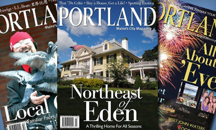 "Portland Magazine - Portland, ME: One-, Two-, or Three-Year Subscription to ""Portland Magazine"" (Up to 58% Off)"