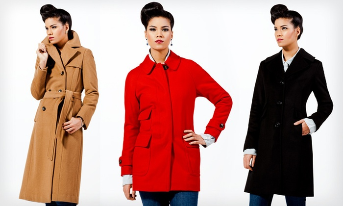 Ellen Tracy Women's Wool Coats: Ellen Tracy Women's Wool Coats (Up to 81% Off). 31 Options Available. Free Shipping and Free Returns.